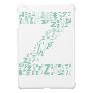 Font Fashion Z Case For The iPad Mini