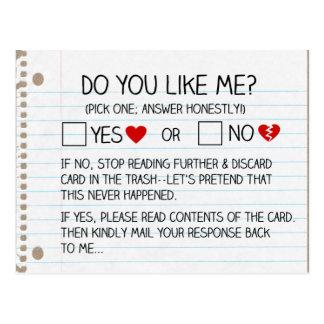 Font vous m'aiment ? Cartes postales