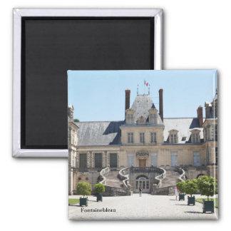 Fontainebleau castle magnet