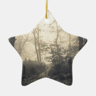 Fontainebleau Forest Ceramic Ornament