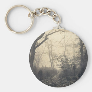 Fontainebleau Forest Keychain
