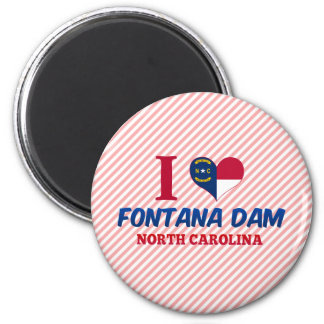 Fontana Dam, North Carolina Magnet
