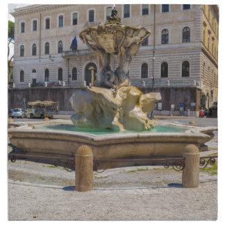 Fontana del Tritone Cloth Napkin