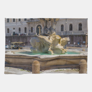 Fontana del Tritone Kitchen Towel