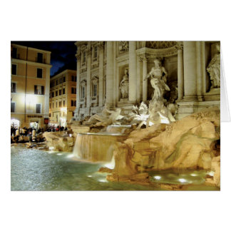 Fontana di Trevi Card