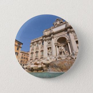 Fontana di Trevi in Rome, Italy 2 Inch Round Button