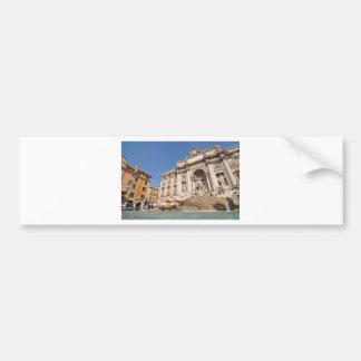 Fontana di Trevi in Rome, Italy Bumper Sticker