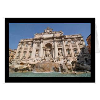 Fontana di Trevi in Rome, Italy Card