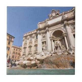 Fontana di Trevi in Rome, Italy Ceramic Tile