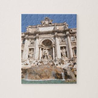 Fontana di Trevi in Rome, Italy Jigsaw Puzzle