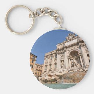 Fontana di Trevi in Rome, Italy Keychain