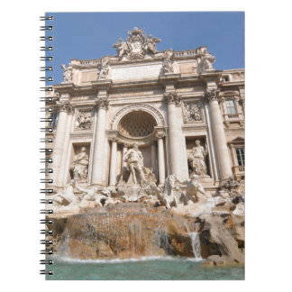 Fontana di Trevi in Rome, Italy Notebook