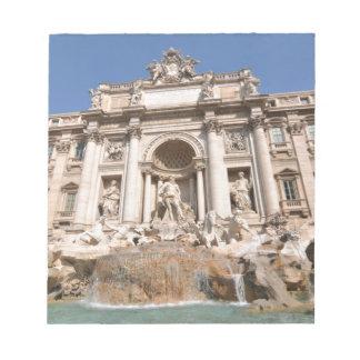 Fontana di Trevi in Rome, Italy Notepad