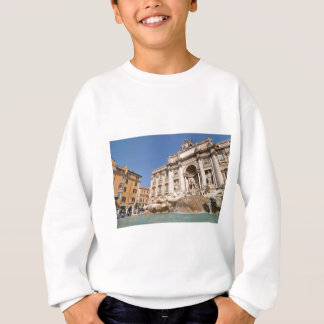Fontana di Trevi in Rome, Italy Sweatshirt