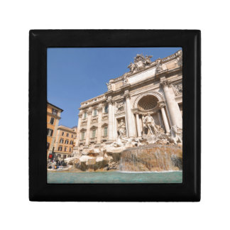 Fontana di Trevi in Rome, Italy Trinket Box