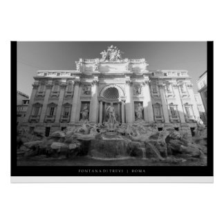 Fontana di Trevi - Trevi Fountain Poster