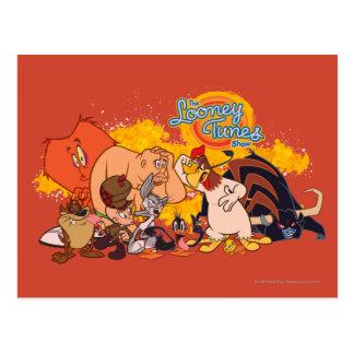 Fonte Looney et logo d exposition d airs Cartes Postales
