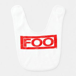 Foo Stamp Bib