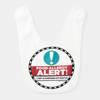Food Allergy Alert Bib