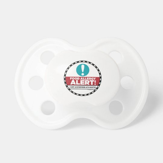 Food Allergy Alert Pacifier