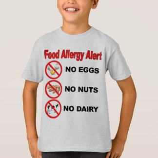 Food Allergy Alert T-Shirt