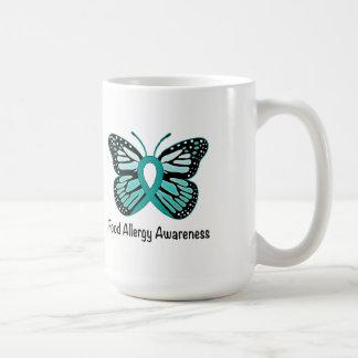 Food Allergy Awareness Butterfly Coffee Mug
