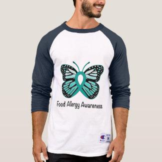 Food Allergy Awareness Butterfly T-Shirt