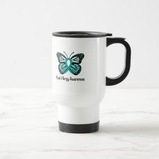 Food Allergy Awareness Butterfly Travel Mug