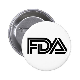 Food and Drug Administration 2 Inch Round Button