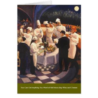 Food and Wine Series Card
