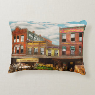 Food - Banana - The Banana delivery man 1921 Accent Pillow