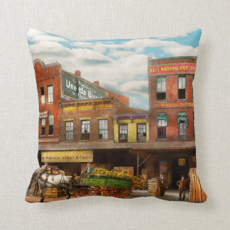 Food - Banana - The Banana delivery man 1921 Throw Pillow