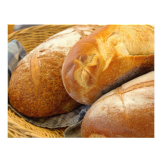 Food - Bread - Just loafing around Flyer