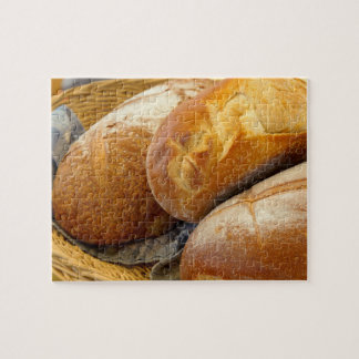 Food - Bread - Just loafing around Jigsaw Puzzle