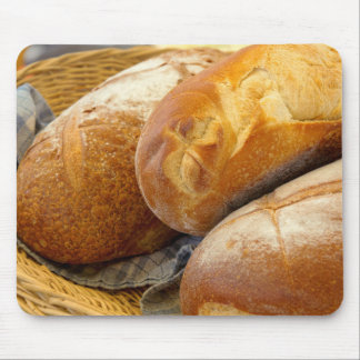 Food - Bread - Just loafing around Mouse Pad