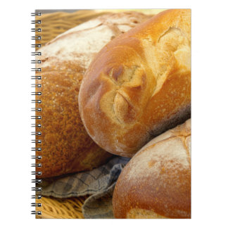 Food - Bread - Just loafing around Notebook