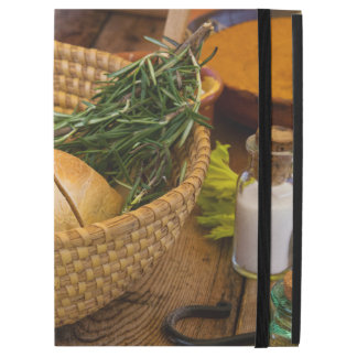 "Food - Bread - Rolls and Rosemary iPad Pro 12.9"" Case"
