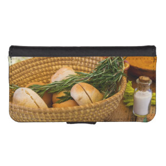 Food - Bread - Rolls and Rosemary iPhone SE/5/5s Wallet Case
