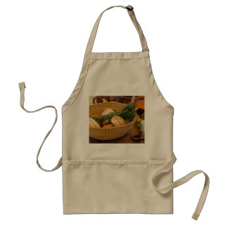 Food - Bread - Rolls and Rosemary Standard Apron