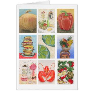 Food Challenge Montage Card