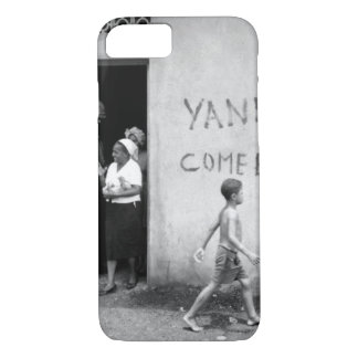 "Food distribution in front of ""Yankees _War Image iPhone 7 Case"