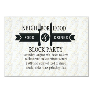Food & Drinks Invitation
