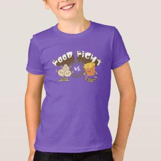Food Fight! Dumplings vs. French Fries (Dark) T-Shirt