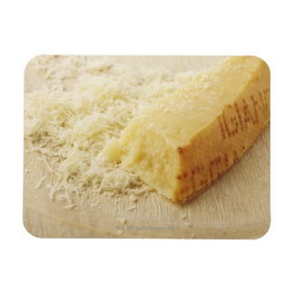 Food, Food And Drink, Cheese, Parmesan, Grated, Rectangular Photo Magnet