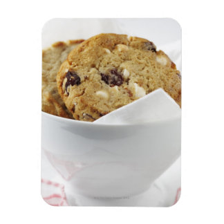 Food, Food And Drink, Cookie, Dessert, Cherry, Rectangular Photo Magnet