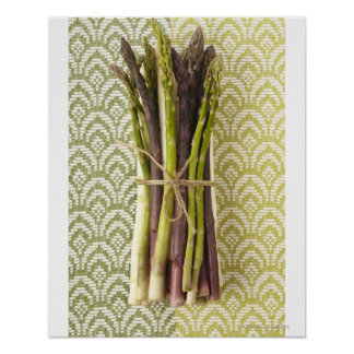 Food, Food And Drink, Vegetable, Asparagus, Poster