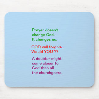 Food for thought : Practical Wisdom Words Mouse Pad