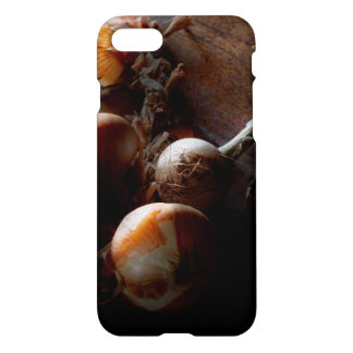 Food - Freshly pulled onions iPhone 7 Case