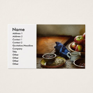 Food - Fruit - Ready for breakfast Business Card