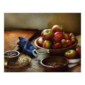 Food - Fruit - Ready for breakfast Full Color Flyer